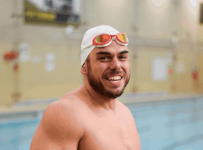 Ross Edgley completes the Great British Swim