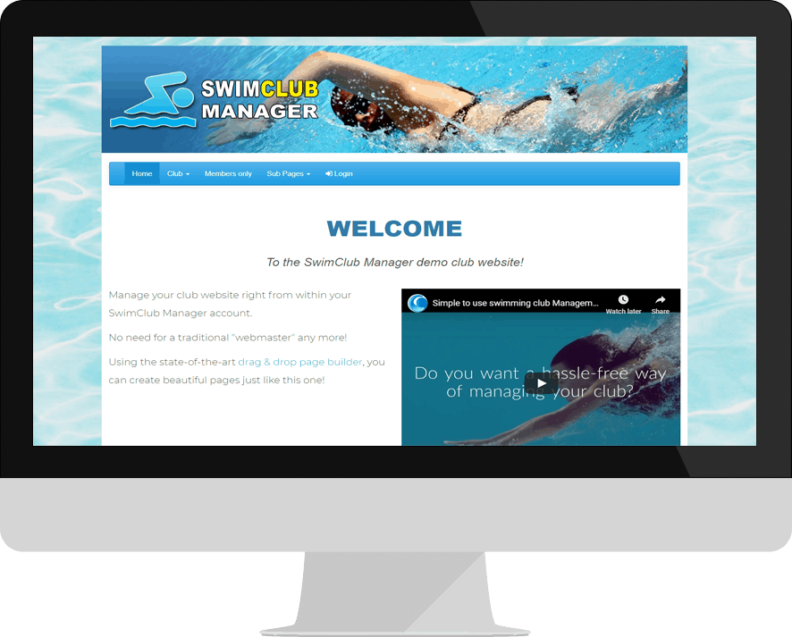 integrated club website